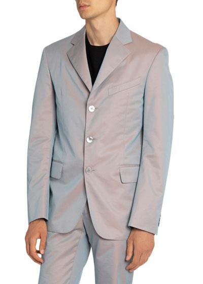 Men's Three-Button Jacket