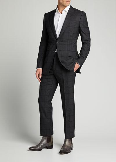 Men's O'Connor Overcheck Two-Piece Suit