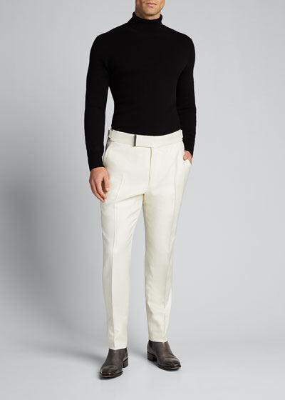 Men's Atticus Silk Trousers