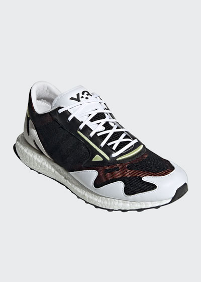 Men's Rhisu Dual-Layer Mesh Runner Sneakers