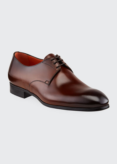 Men's Induct Burnished Leather Derby Shoes