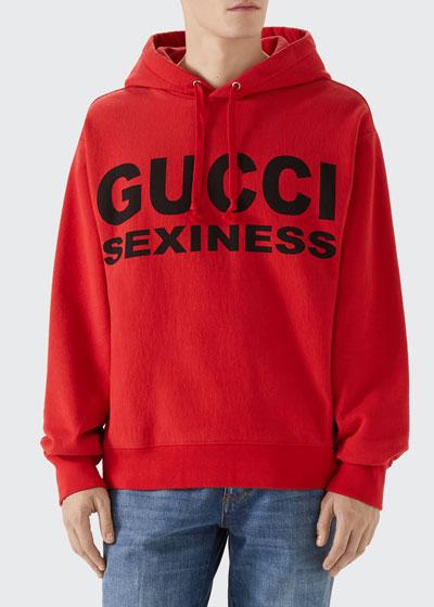 Men's Sexiness Pullover Hoodie Sweatshirt