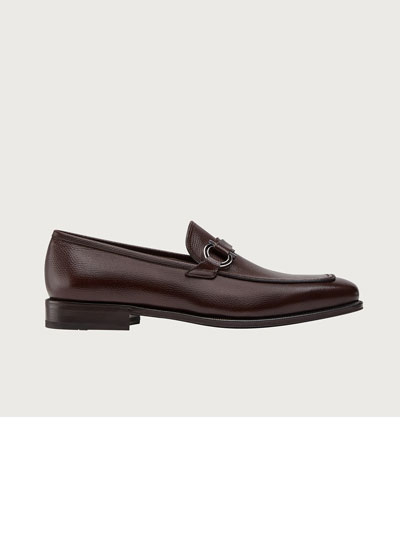 Leather Apron Toe Loafer