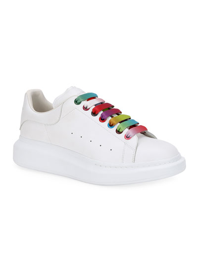 Men's Oversized Sneakers w/ Colored Laces