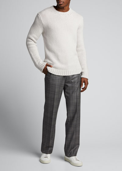Men's Mendes Crewneck Cashmere Sweater