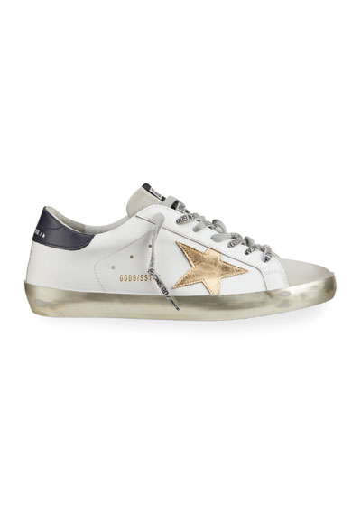 Men's Superstar Vintage Leather Sneakers