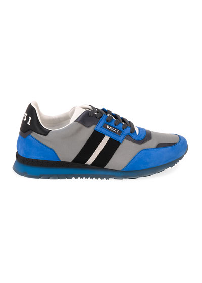 Men's Astfeld Colorblock Trainspotting-Stripe Sneakers