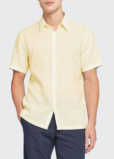 Men's Irving Summer Linen Sport Shirt