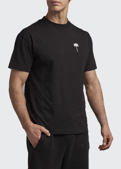 Men's Jersey Palm-Print T-Shirt
