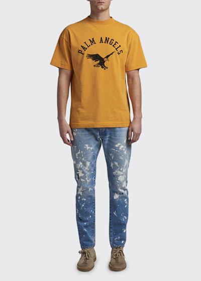 Men's Jersey Logo-Print T-Shirt