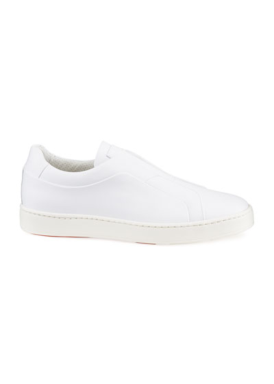 Men's Pass Soft Leather Slip-On Sneakers