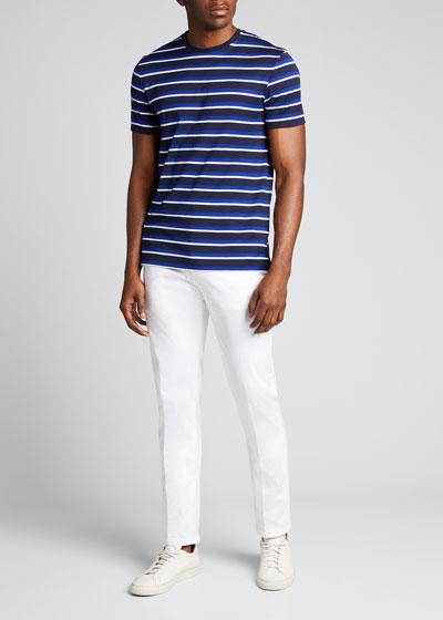 Men's M6 Striped Short-Sleeve T-Shirt