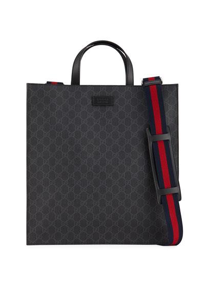 Men's Soft GG Supreme Tote Bag