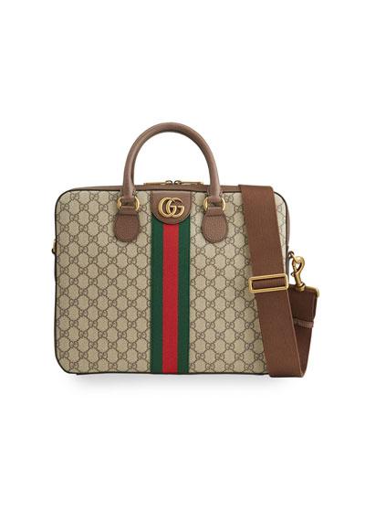Men's Ophidia Soft GG Briefcase