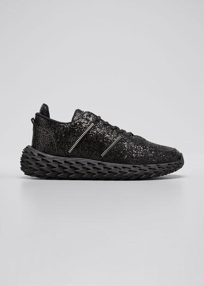 Men's Urchin Low-Top Glitter Sneakers