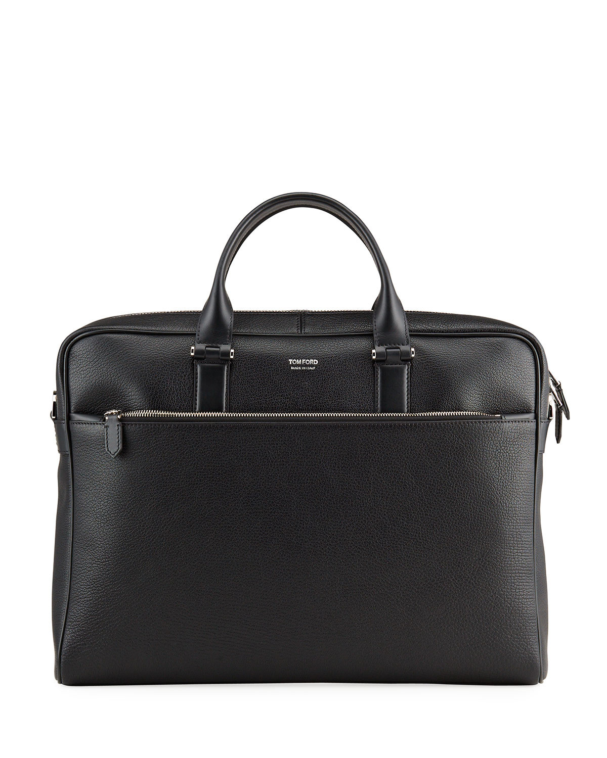 Tom Ford MEN'S GRAINED LEATHER BRIEFCASE