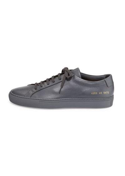 Men's Achilles Low-Top Sneakers, Dark Gray