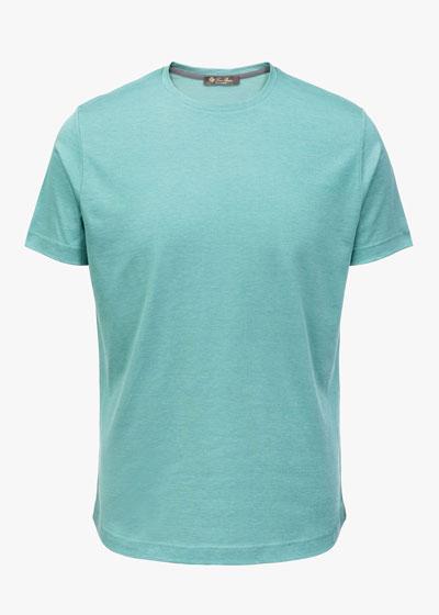Men's Silk & Cotton Jersey T-Shirt