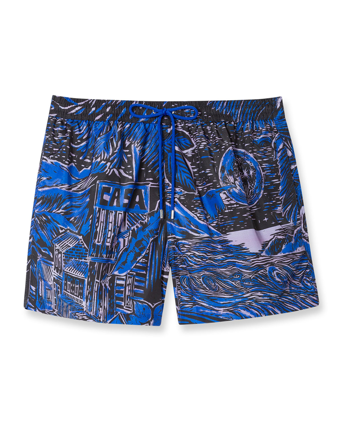 Paul Smith MEN'S CHILEAN-PRINT SWIM SHORTS