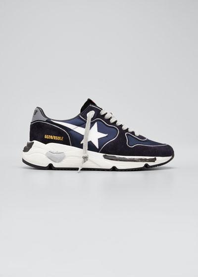 Men's Running Sole Mix-Media Sneakers