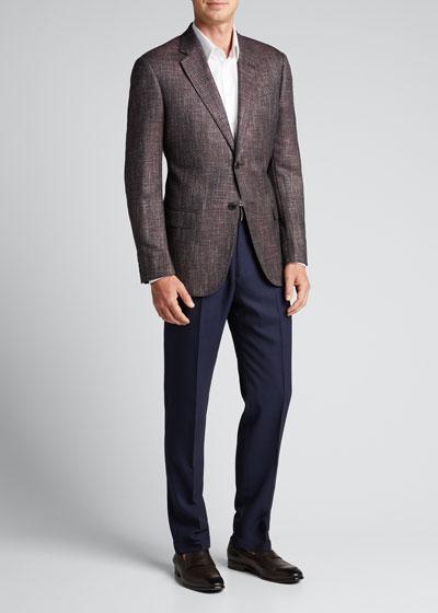 Men's Multi Bamboo Wool Sport Jacket