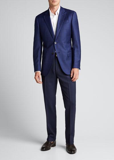 Men's Box Wool Sport Jacket