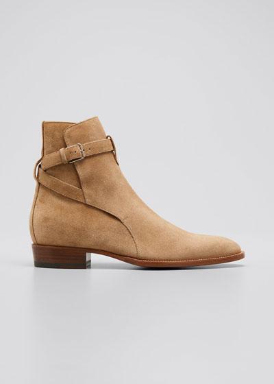 Men's Wyatt Jodhpur Suede Ankle Boots