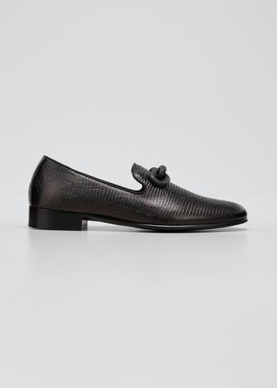 Embellished Leather Shoes