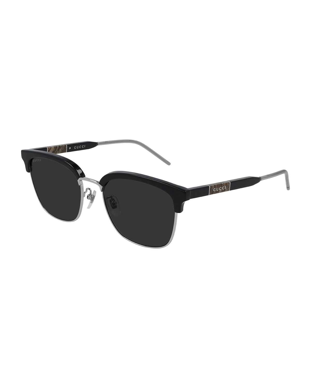 Gucci MEN'S GG0846SK SQUARE SUNGLASSES