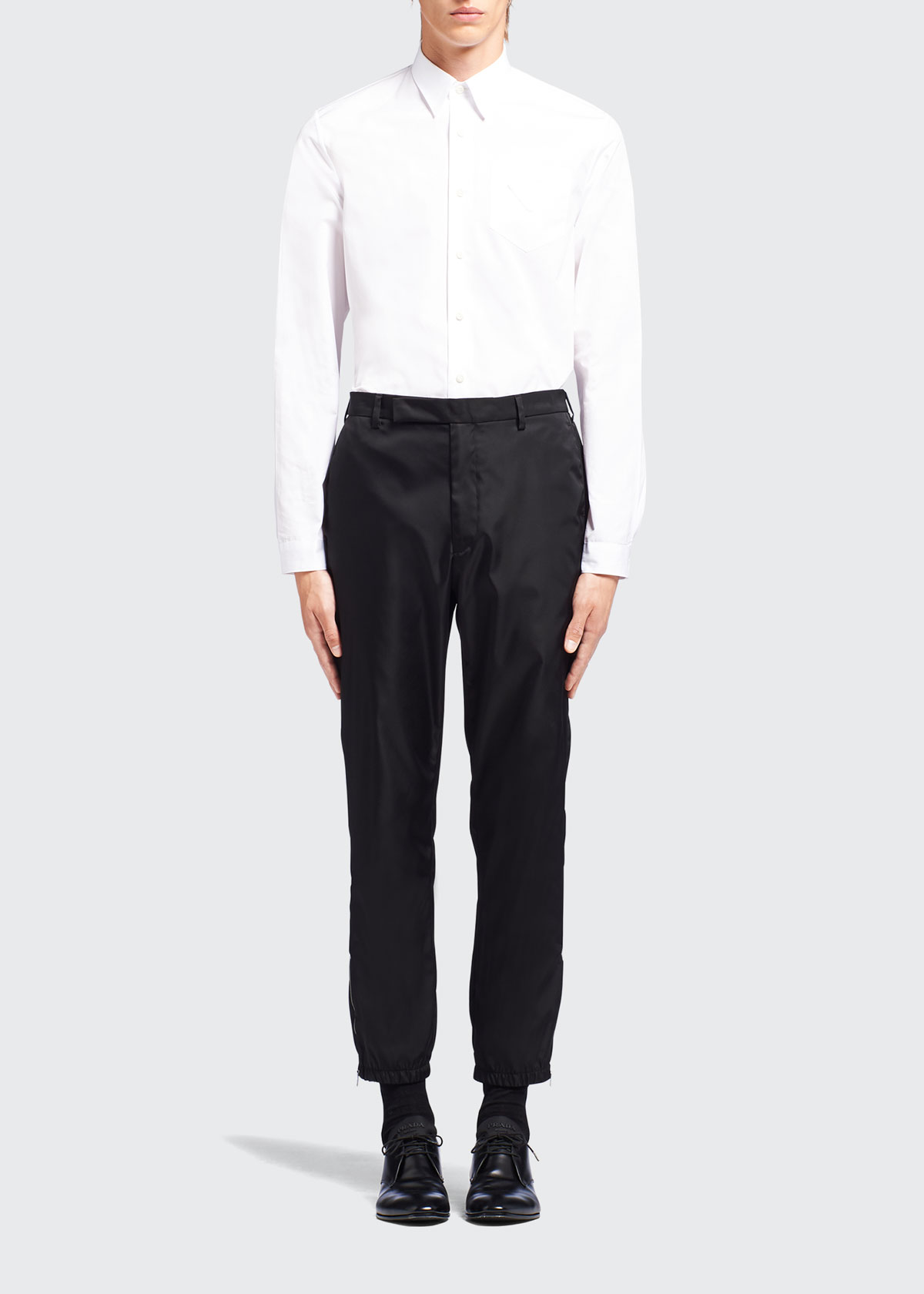 Prada MEN'S RE-NYLON JOGGER PANTS