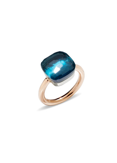 Nudo 18k London Blue Topaz Maxi Ring