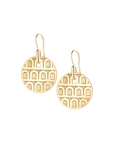 L'Arc de Davidor 18k Gold Drop Earrings - Petite Model