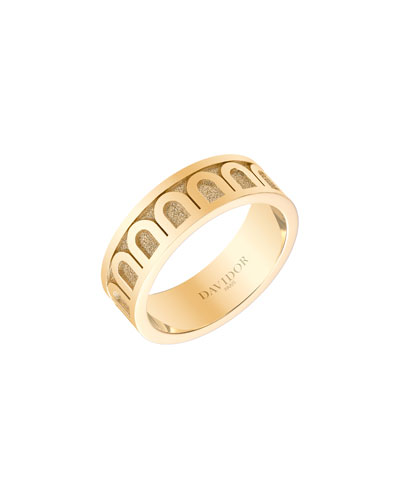 L'Arc de Davidor 18k Gold Ring - Med. Model, Sz. 6.5