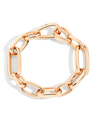 Iconica 18k Rose Gold Slim-Chain Bracelet