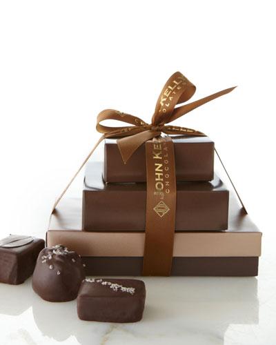 John Kelly Chocolates Medium Assortment Gift Tower