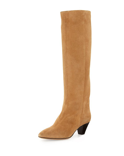 Robby Tall Suede Boot