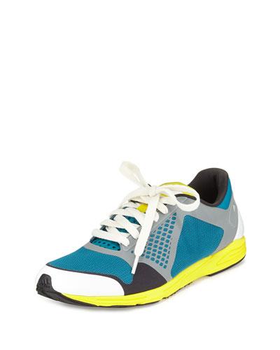 Adizero Tacumi Knit Sneaker, Teal/Lilac
