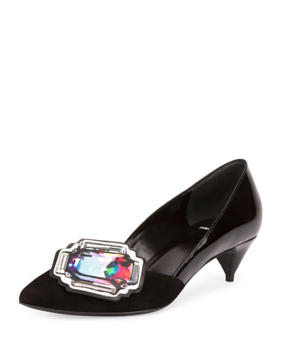 Mega Gem Ornament Pump, Black