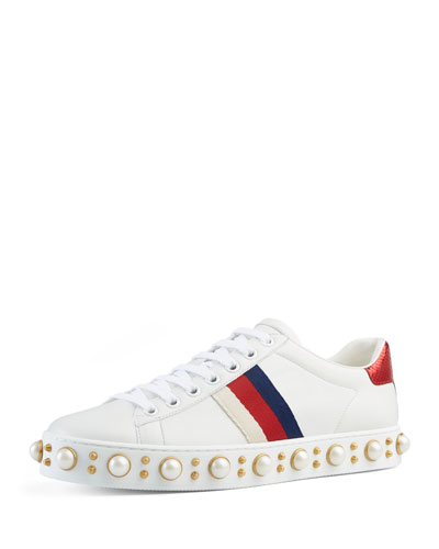 Flat New Ace Sneaker, White