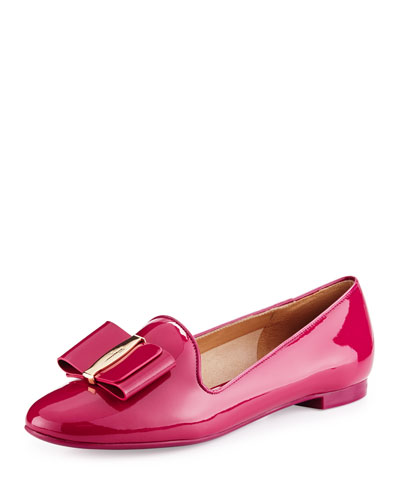 Patent Leather Loafer, Pink