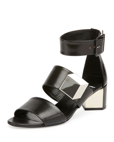 De d'Or Illusion Sandal, Black