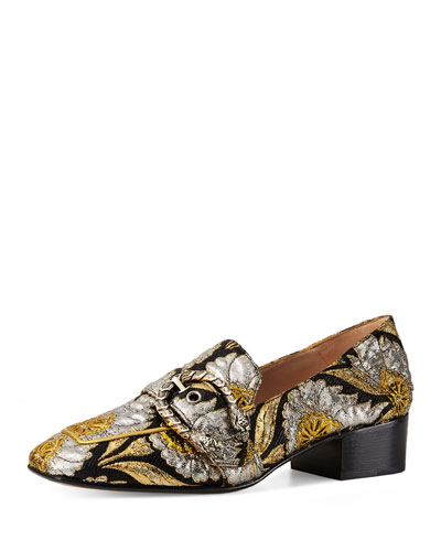Dionysus Brocade 35mm Loafer