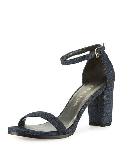 Nearlynude Denim City Sandal