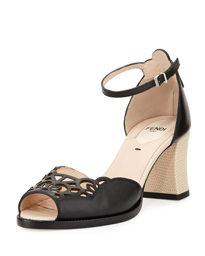 Chameleon 65mm Ankle-Wrap Sandal
