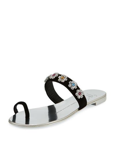 Nuvorock Floral Slide Sandal