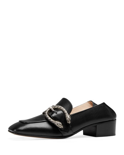 Dionysus Leather 35mm Loafer, Black