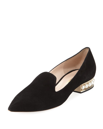 Casati Pearly Suede Loafer