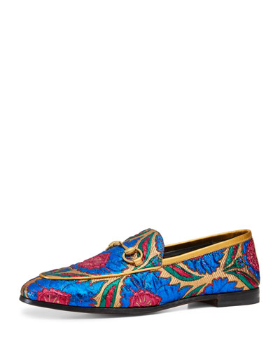 Flat New Jordan Jacquard Loafer, Multi