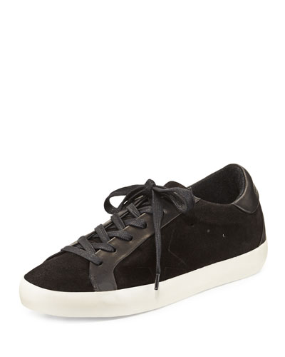 Starter Suede Low-Top Sneaker, Black