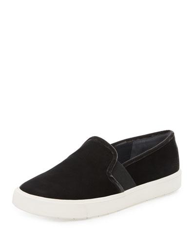 Blair-12 Velvet Skate Sneaker